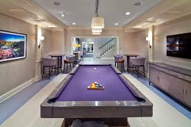 pool table wall art basement tables basement transitional with purple felt wall mounted