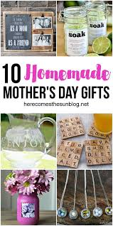 mothers day gift ideas 10 homemade mother s day gift ideas here comes the sun