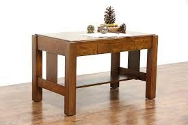 arts u0026 crafts mission oak antique 1905 craftsman library table