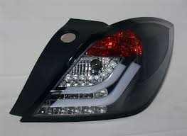 vauxhall algeria vauxhall astra h mk5 3 door crystal black led rear back tail