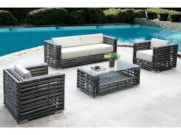 canap ext rieur design meuble jardin design salon exterieur resine horenove