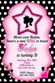 free printable barbie birthday invitations ask com image search