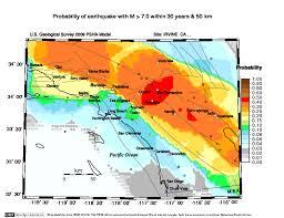 map of inglewood california newport inglewood magnitude probability maps energy