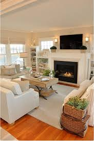 putting a tv above your mantel living rooms fireplace mantel