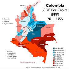 World Map According To America by Latin America Geocurrents