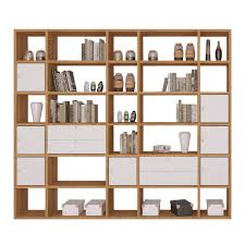Narrow Cube Bookcase by Home Etc Limba Tall Wide Cube Storage Bookcase U0026 Reviews Wayfair