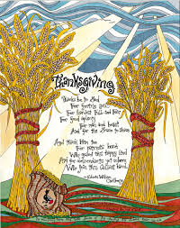 items similar to thanksgiving prayer print of