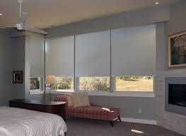 Bedroom Shades Quiet Motor Shade System