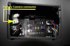 oem camera connection below dash tacoma world