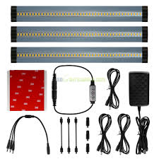 thin led under cabinet lighting pcb light bars ledlightsworld com