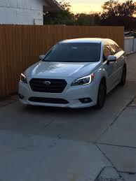 subaru legacy 2015 white plasti dipped grille and rear bumper subaru legacy forums