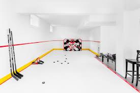 synthetic ice by hockeyshot 1 fake ice rink surface hockeyshot