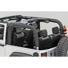 jeep wrangler grey 2 door roll bar cover in black for jk 2 door 99 99