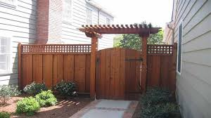 pergola and lattice fence garden door gate with arch garden fence