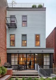 rowhou com greenpoint row house features two story kitchen and bone dry wine