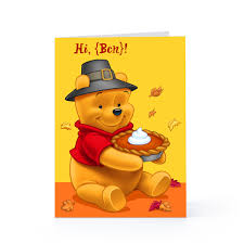winnie the pooh thanksgiving wallpaper