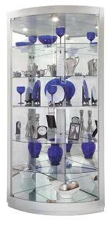 glass corner curio cabinet curio cabinets corner curio cabinets mirrored bottom curved
