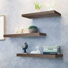 what of wood is best for shelves kosiehouse rustic wood floating shelves wall mounted shelf hanging wall decorative shelves display ledge storage rack not recommended for plaster