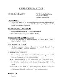 a resume format for a type of resume format how type a resume type of resume format