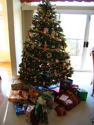 douglas fir singing christmas tree christmas lights decoration