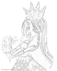 abbey bominable sweet screams coloring page