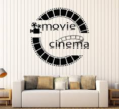 Wall Murals Amazon by Amazon Com Vinyl Wall Decal Film Cinema Movie Cinemaddict