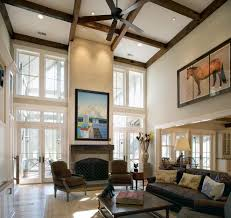 High Ceiling Living Room by High Ceiling Windows Living Room Rustic With Mountain Home High