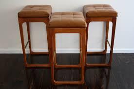 mid century gerald easden sleigh leg bar stools retro vintage
