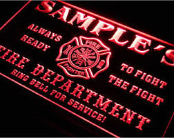Firefighter Home Decorations Firefighter Poster Etsy