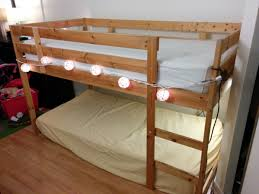 turn a mydal bunkbed into a kura loft bed ikea hackers ikea