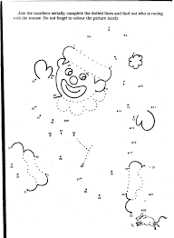 clown coloring pages free large images