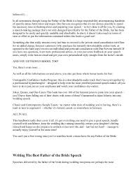 Writing The Best Resume by How To Give The Best Father Of The Bride Speech Guide