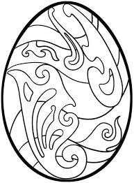 easter basket with eggs coloring page easter egg coloring pages