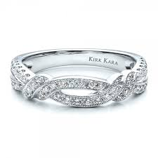kirk kara wedding band diamond split shank wedding band with matching engagement ring