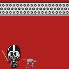 12x12 Scrapbook Little Darth Vader Scrapbooking Paper