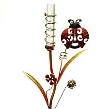 Ladybug Solar Garden Lights - regal art u0026 gift 10375