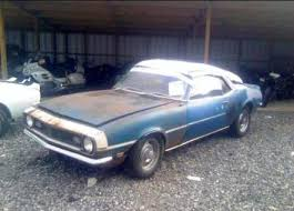 68 camaro project car for sale faq cheap damaged wrecked salvage cars for sale