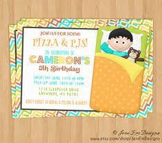 free printable halloween sleepover invitation to personalise with