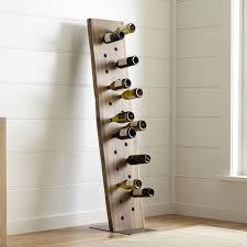dakota 24 bottle leaning wine rack the green head