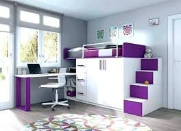 chambre ado avec lit mezzanine lit de fille ado lit mezzanine bureau ado charmant couleur mur lit