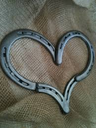 heart shaped horseshoes horseshoe heart