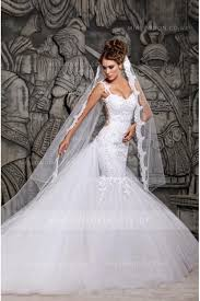 tulle wedding dresses uk trumpet and mermaid wedding dresses and bridal gowns for look