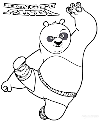 printable kung fu panda coloring pages for kids cool2bkids