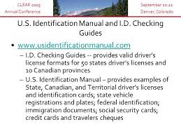 Colorado travelers checks images Presenters promoting regulatory excellence identification of jpg