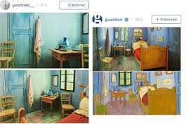 airbnb un musée de chicago met la chambre peinte par gogh à