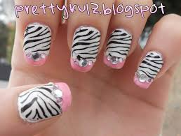 nail zebra design u0026 the trend of the year stylepics