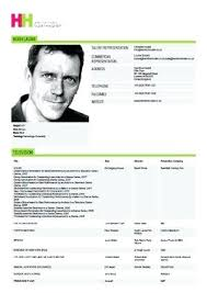 Resume Acting Template by Actor Resume Template Resume Exle Acting Resume Template