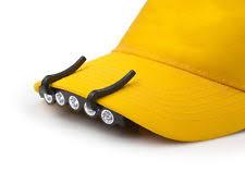 clip on visor light 5 led ball cap visor light maxcraft 60193 ebay