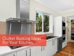 Kitchen Benchtop Ideas Clutter Busting Ideas To Free Up Kitchen Bench Space