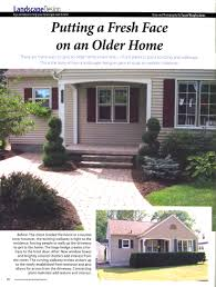 new homes and ideas magazine putting a fresh face on an older home wisconsin gardening